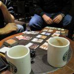 Internationale Spielemesse 2011 - Starbucks-Frühstück + Magic