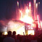 Green Day München - Bühne explodiert