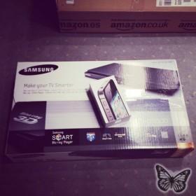 Samsung Blu-ray & iPhone