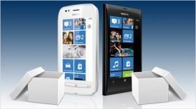 Nokia Lumia 710 und Lumia 800