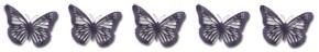 5 Schmetterlinge