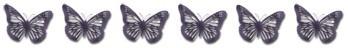 6 Schmetterlinge