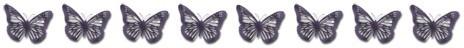 8 Schmetterlinge