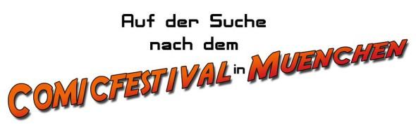 Comicfestival München 2013 - Titel