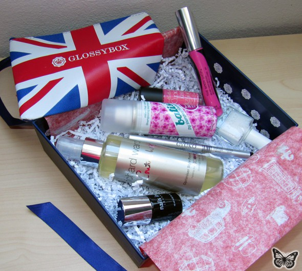 GlossyBoxBest of Britain Juli 2013