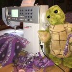 2014-12-21 Union Jack Quilt - Josie hilft mit