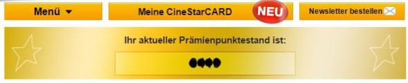 Status CineStarCARD Gold