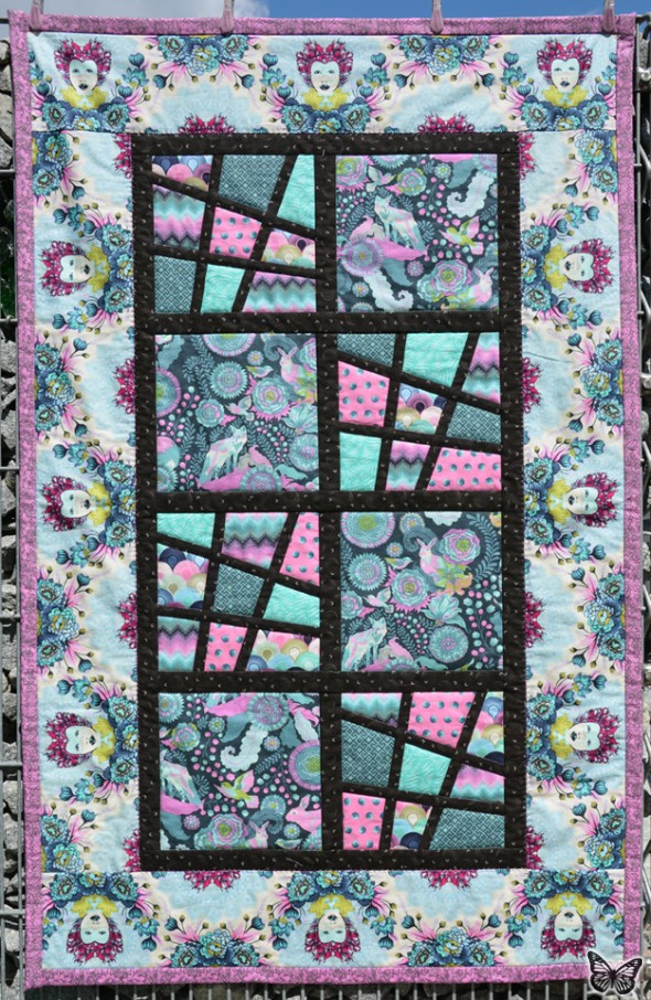 Magic Tiles Zwillings-Quilt 03