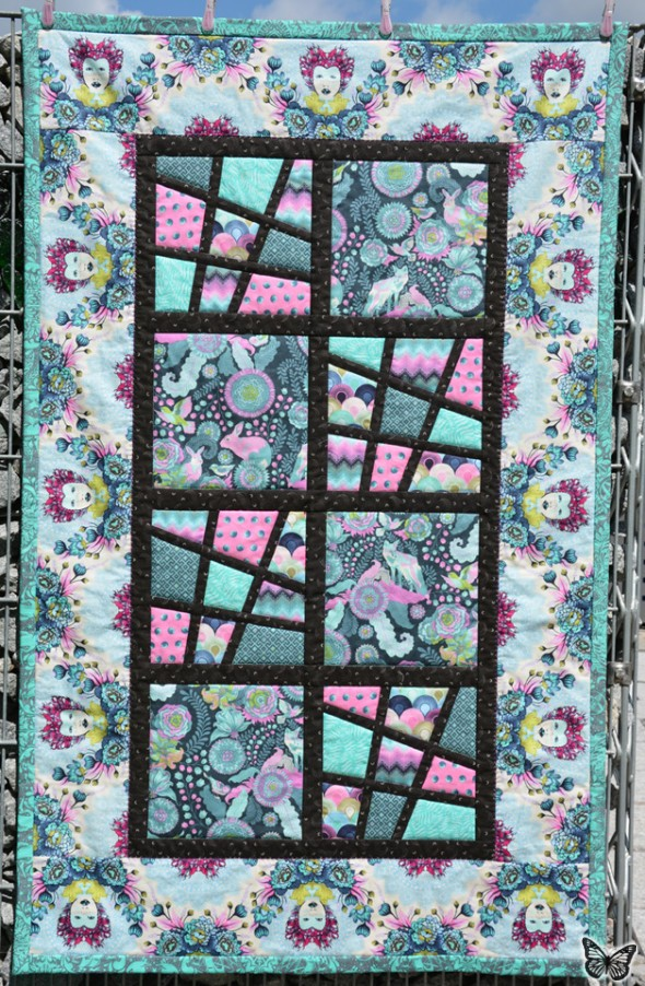 Magic Tiles Zwillings-Quilt 04