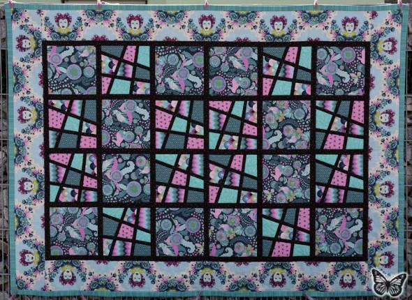 Magic Tiles Zwillings-Quilt 07