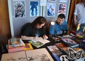 Comicfestival München 2015 - David Boller