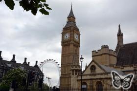 Big Ben und London Eye 2015