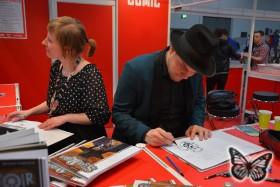 German Comic Con: Verena Klinke, Felix Mertikat