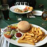 Abendessen im Ben More Restaurant