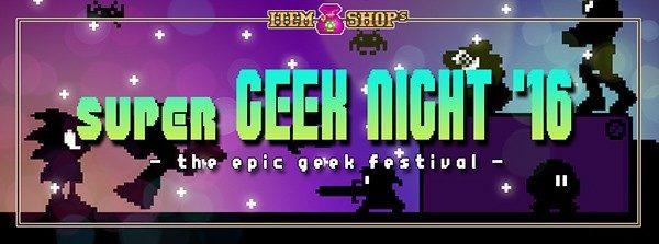 Super Geek Night Logo