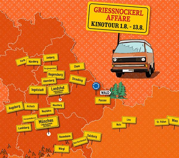 Griessnockeraffäre Kinotour