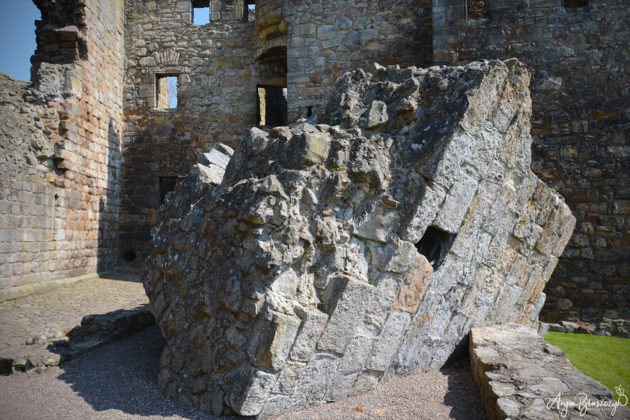 Aberdour Castle Schottland 2016