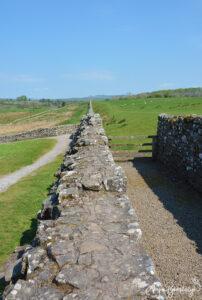 Hadrians Wall Schottland 2016