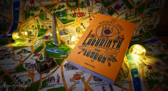 Buch Das Labyrinth von London von Benedict Jacka
