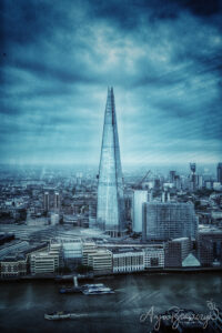 Hochhaus The Shard in London